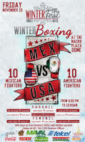 WinterFest 2013 Boxing Match in Nogales Sonora Mexico