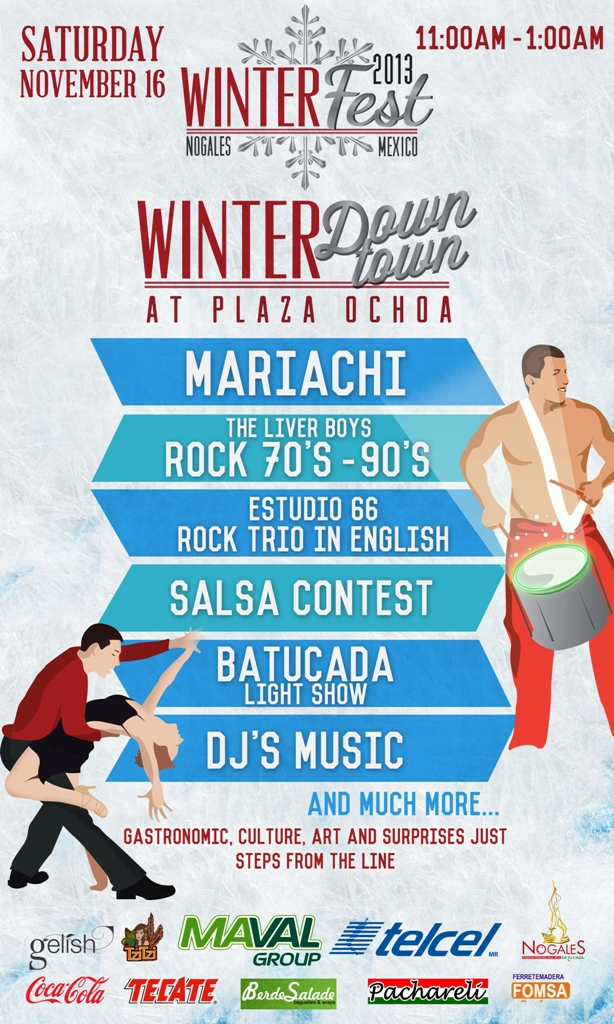WinterFest 2013 in Nogales Sonora Mexico