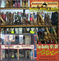 Rodeo Boots Discount Coupon in Nogales Sonora Mexico