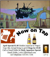Tequila Bar & Grill Nogales Sonora Mexico